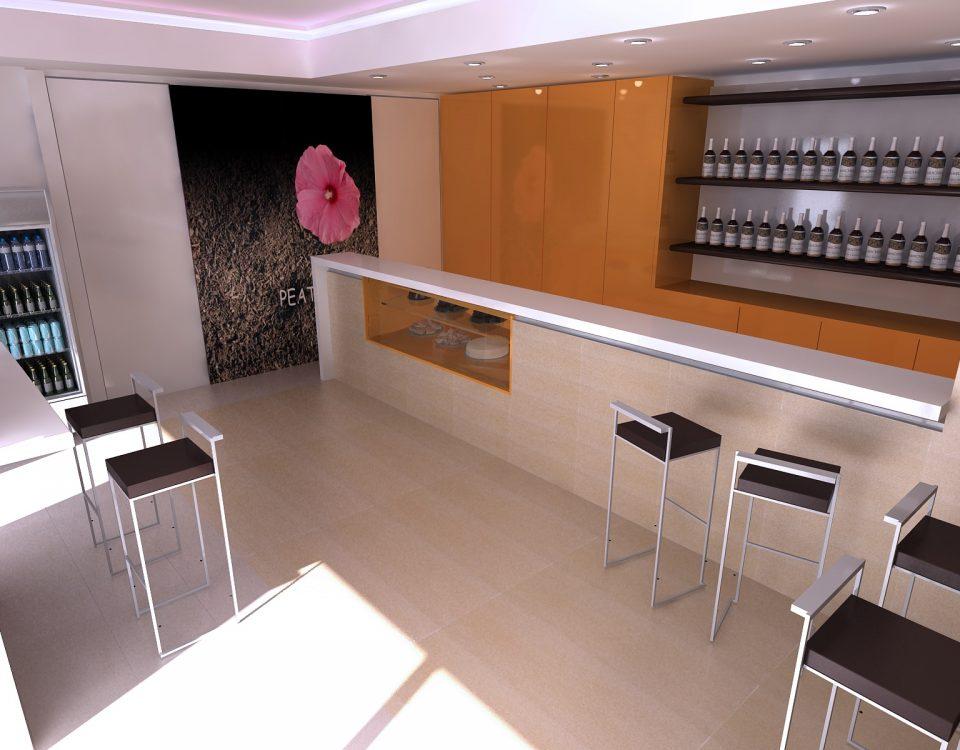 Realizzazione di un WINE-BAR a  Napoli